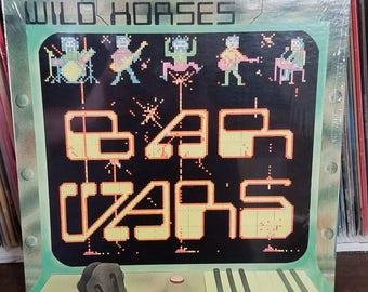 Wild Horses Bar Wars Generic Records GEN4411 SIS Rock LP