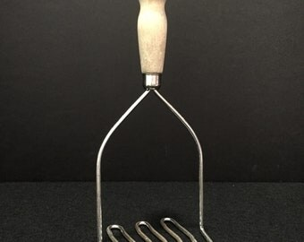 Vintage Potato Masher #107