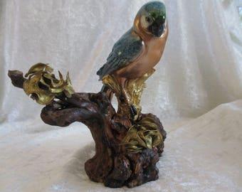 Deco Parrot bird wood