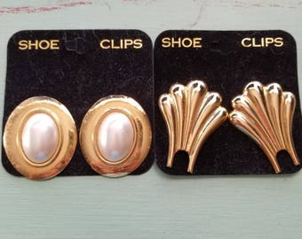 Vintage Shoe Clip - Set of Two