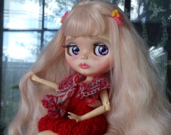 Custom Blythe Dolls For Sale by OOAK CUSTOM BLYTHE doll