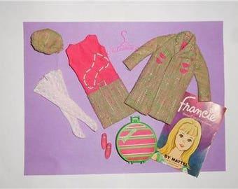 Vintage Francie #1286 Tweed-Somes Complete & Excellent Condition -- SUPER MINT