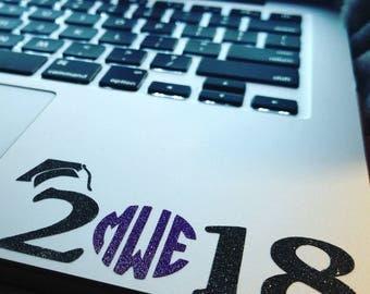 2018 Senior Laptop Decal