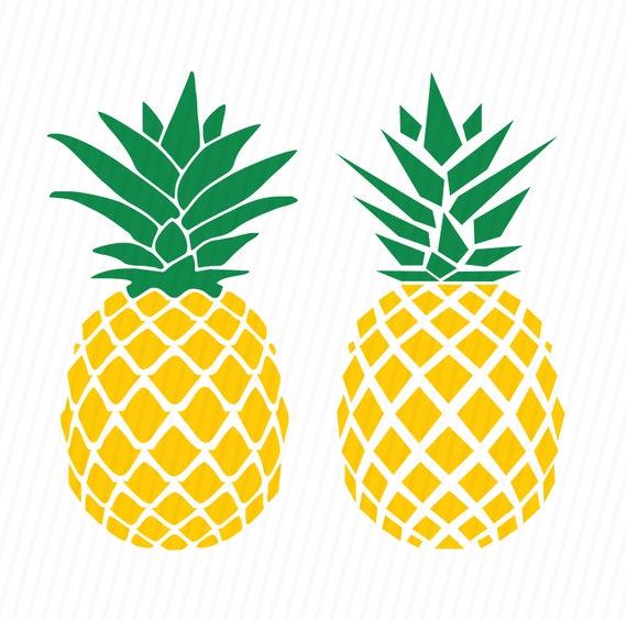 Pineapple SVG Pineapple Monogram SVG SVG Files Cricut Cut