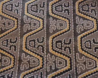 fabric beige grey patchwork African pattern by Blank Quilting fabrics