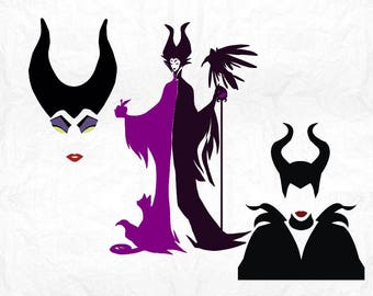 witch horns  SVG Clipart Cut Files Silhouette Cameo Svg for Cricut and Vinyl File cutting Digital cuts file DXF Png Pdf Eps vector