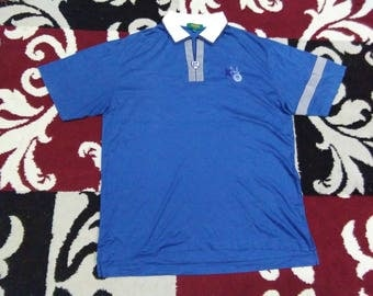 vintage KENZO POLOS SHIRT 4 fits to size L
