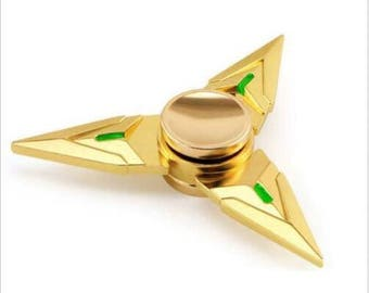 Genji Fidget Hand Spinner Triangle Metal Finger Focus Toy EDC ADHD Autism