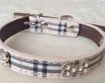 Dog Collar- Burberry
