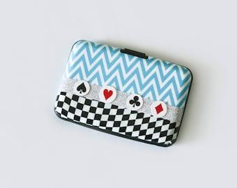 Alice in Wonderland Wallet Business Card Holder