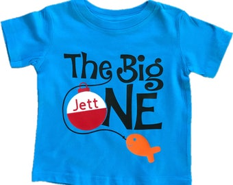 The Big ONE, First Birthday Shirt