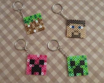 Minecraft keychain