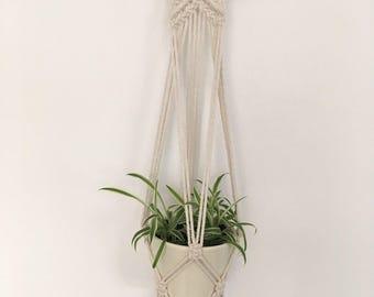 Macrame planthanger bohemian decor home interior
