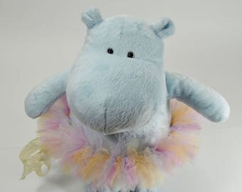 Baby hippo cuddly stuffed hippo nursery decor stuffed animal hippo nursery decor plush hippo soft cudly hippo baby toy baby shower gift