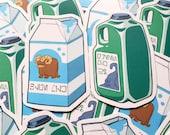 Star Wars Blue Milk / Green Milk Vinyl Sticker Pack