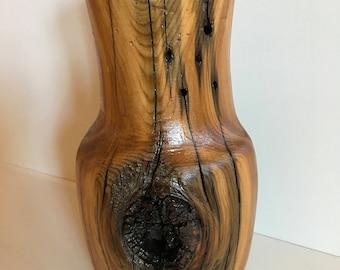 Cedar Fence Post Vase
