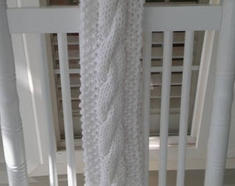 Chunky Cable Scarf
