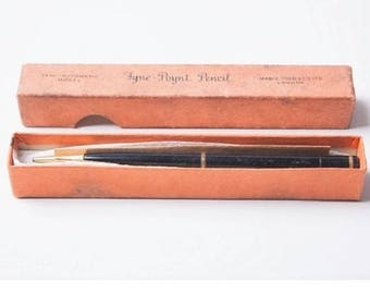 Swan Fyne Point vintage pencil boxed 1920s