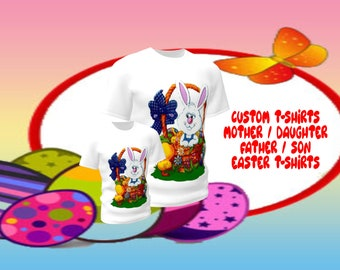 Family T-shirts, mother/daughter,father/son, custom designs