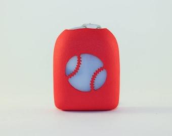 Clip-On Omnipod Pod Cover - Baseball
