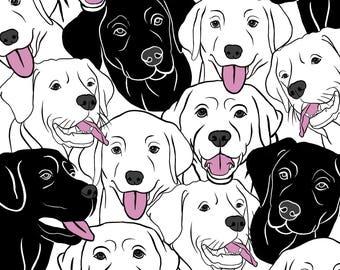Labrador DIGITAL PRINT