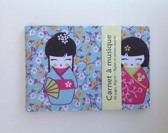 "Small notebook music ""Geisha"""