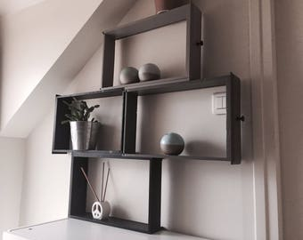 Shelf with drawers