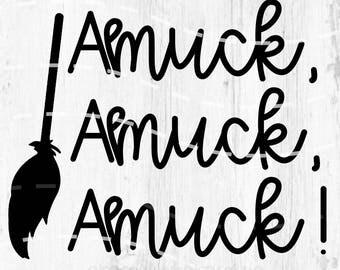Hocus Pocus SVG // Hocus PocusCut File // Amuck Amuck Amuck Digital File