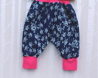 Bloomers, Pumphose, wax trousers, jeans, size 80/86, gift