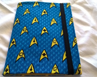 Star Trek Yellow A5 Fabric journal cover