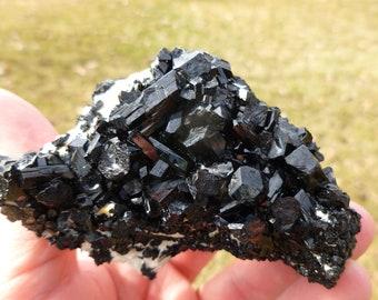 Black Tourmaline Schorl from Erongo, Namibia