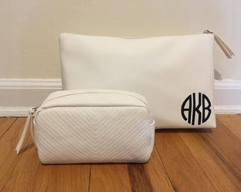 Personalized Large and Small Clutch Bag (Great for bridesmaids, sweet sixteens, or diva parties)