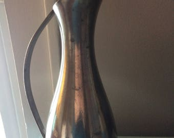 Vintage KDM Royal Holland Pewter Pitcher or Flower Vase