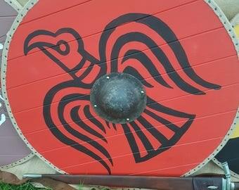 Raven Viking Shield