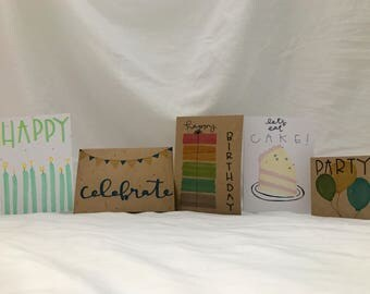 Birthday Card Pack (5)