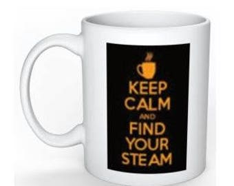 Keep Calm and Find Your STEAM in School, Fraternity or Sorority Colors