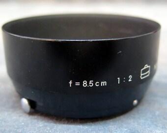 Nikon RF Black F 8.5cm f2  1:2 Snap-on Hood