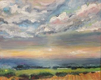 SALE: Original Painting - Fond Memory