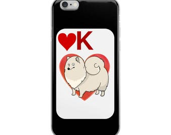 Pomeranian Lover iPhone Case - Iphone 7 case - Iphone 8 case - Iphone 7 plus case - Iphone 6 case - Iphone X case