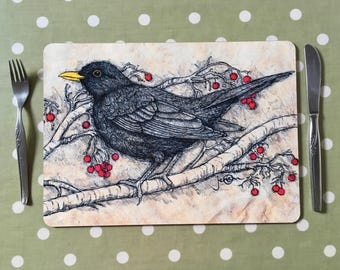 Blackbird Placemats / Tablemats