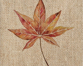Natural Autumn Fall Leaves Party Napkins/ Fall Wedding Napkins / Fall Leaves Party Napkins/ Thanksgiving Party Supplies