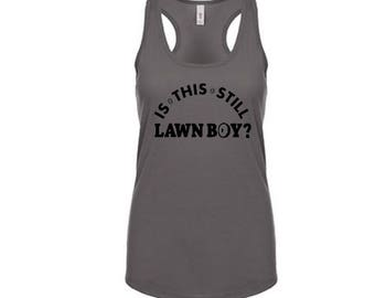 """Ships in 24 hours Phish Bakers Dozen """"Is this still Lawn Boy?"""" T shirt or Ladies Tank"""