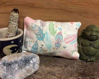 Dream pillows, Angel, Fairy, Mermaid, herbs, crystals, essential oils, reading