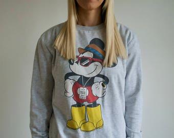 Vintage 90's Mickey Mouse Sweatshirt
