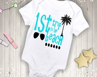 1st Trip to the Beach Outfit
