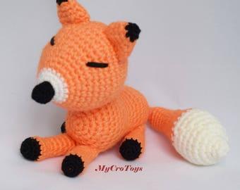 Soft and cute handmade crochet fox