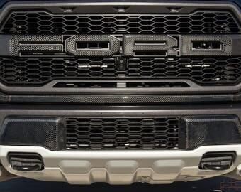 2017 Ford Raptor Carbon fiber Grille Molding
