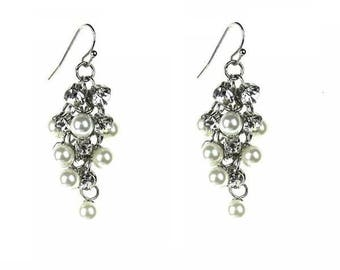Pearl and Crystal Encrusted Drops