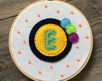 Initial Embroidery - Customisable & Personalised