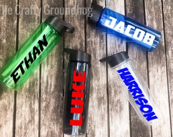 Personalized 24 oz Water Bottles